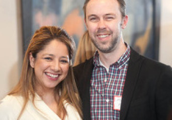Matt Meeker, Founder of Meetup.com & Mayra Ceja, President of Princeton Entrepreneurs' Network-NYC Event