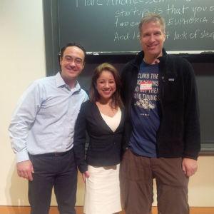 Princeton Entrepreneurs's Network; Eric Sharret; Mayra Ceja; Brian O'Kelley